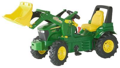 Tractor de pedales - john deere 7930 extra width=