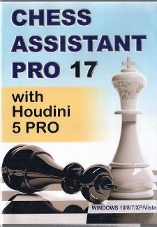Chess Assistant Pro 17 with houdini 5 Pro
