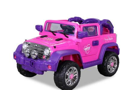 jeep rosa infantil width=