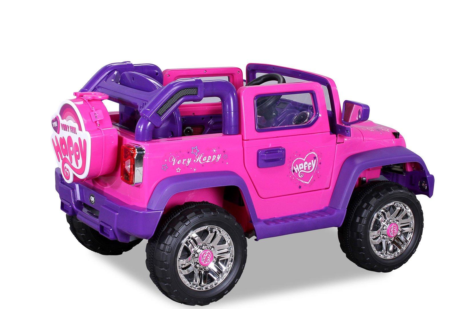 jeep electrico para niñas width=