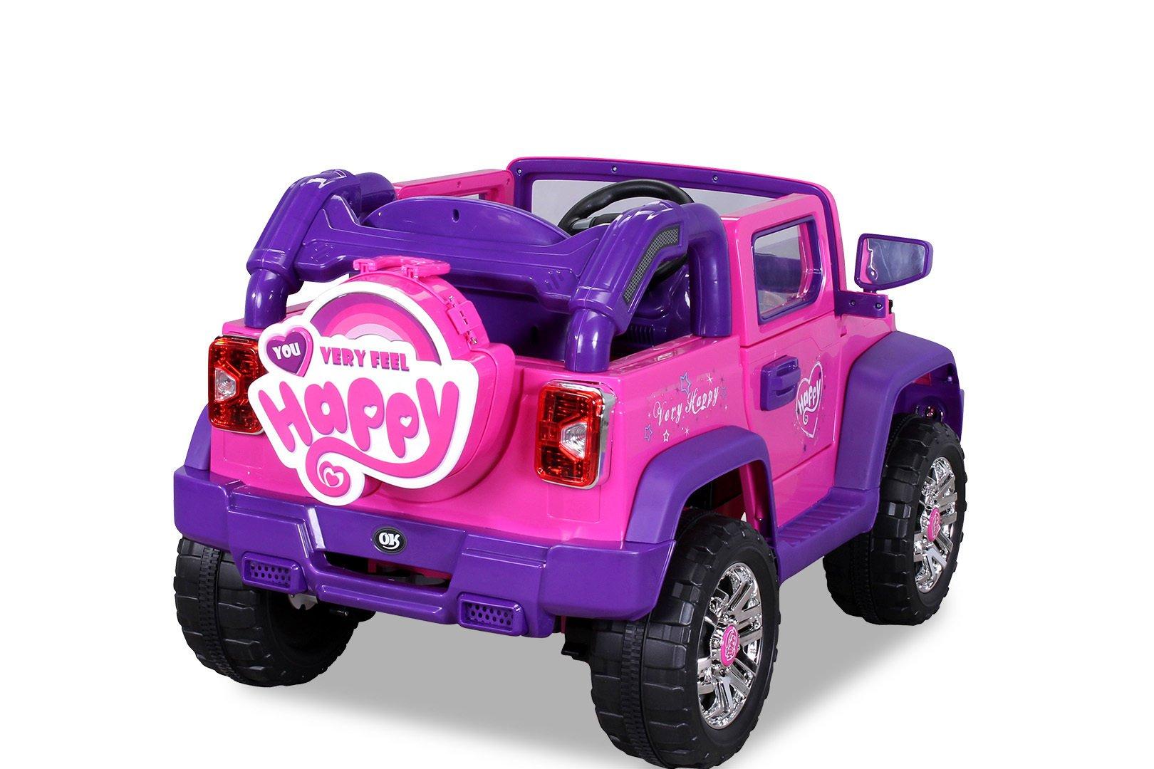 jeep electrico para niñas en oferta width=