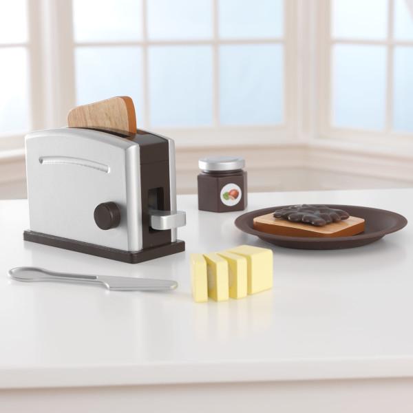 Kidkraft set tostadora espresso 63373