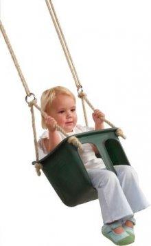 Asiento de bebé verde