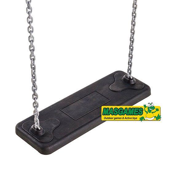Asiento de caucho con cadenas BASIC