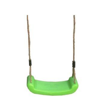 Asiento de plástico verde