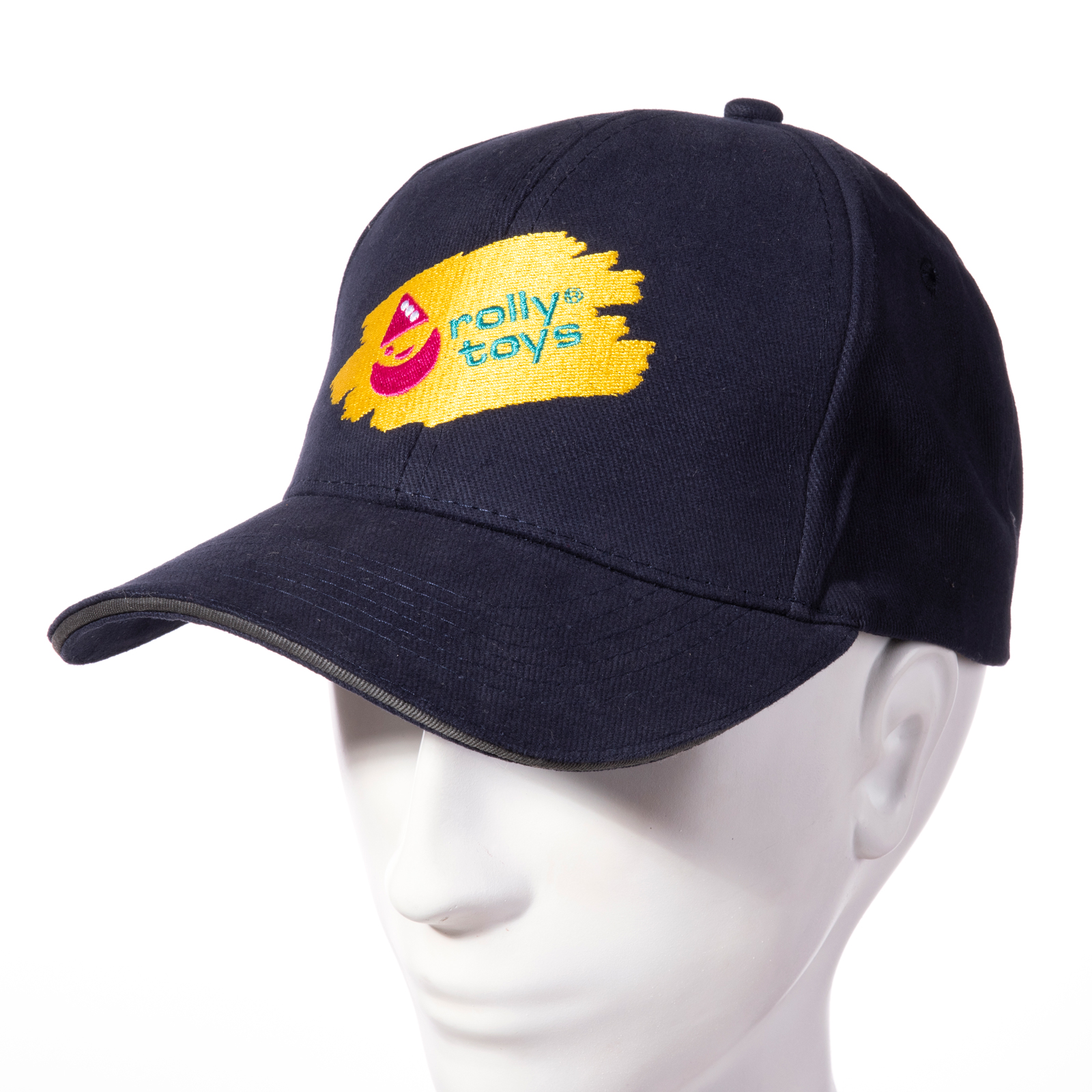 GORRA ROLLY AZUL - VISTA FRONTAL