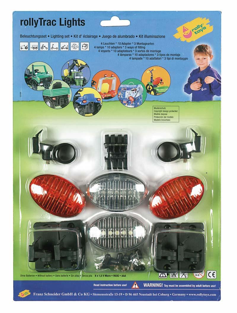 Set de luces - caja