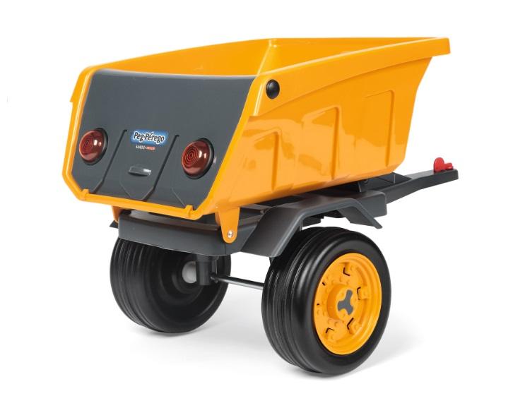 Trailer Deere Construccion - Vista trasera width=