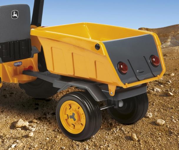 Trailer Deere Construccion - Enganche a tractor width=