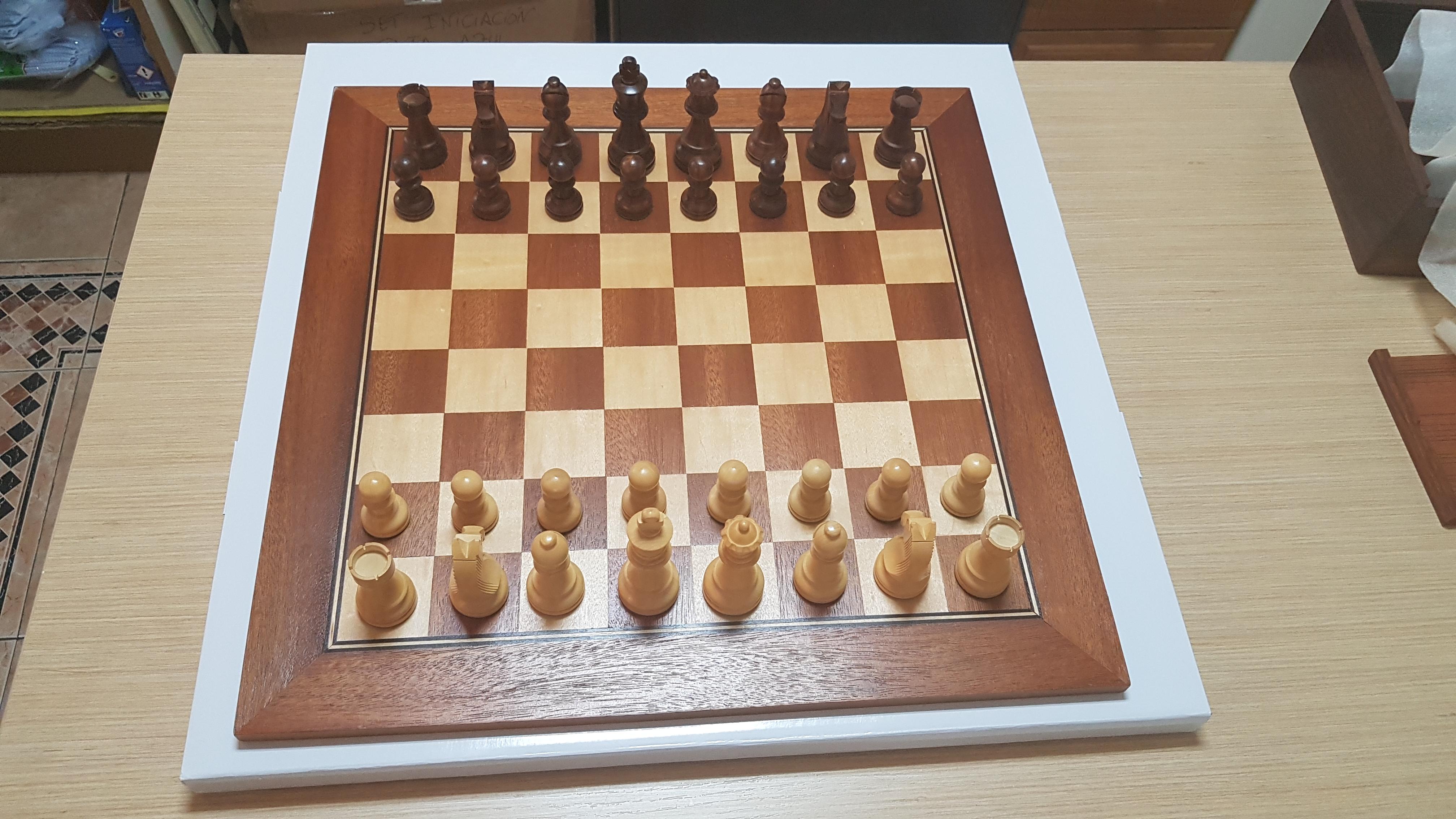 tablero madera 50x50