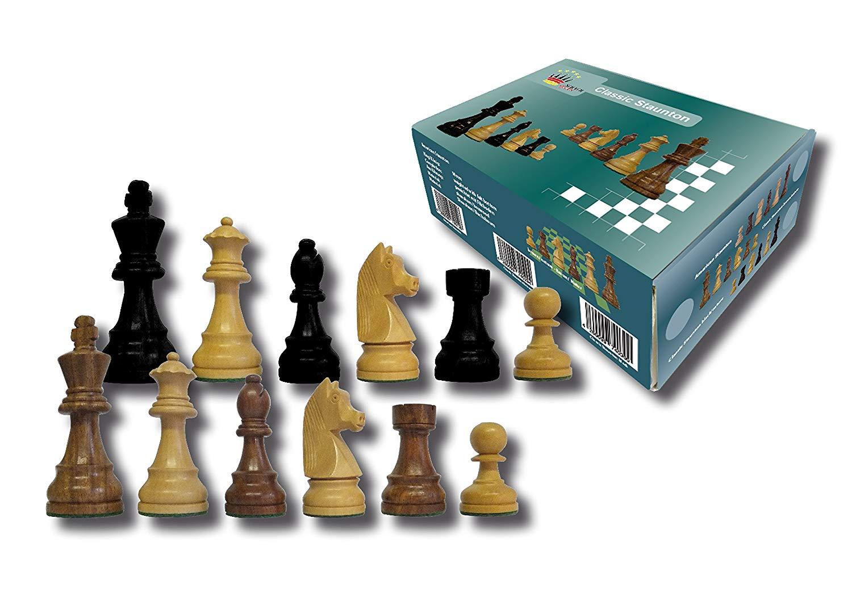 piezas classic stauton ajedrez