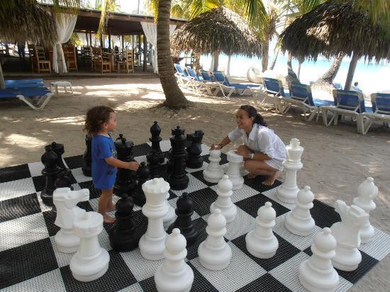 Juego de ajedrez gigante para el jardin for Ajedrez gigante para jardin