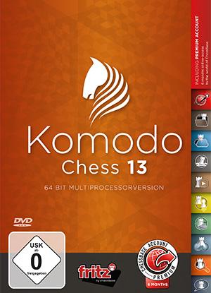 Software de Ajedrez Komodo 13