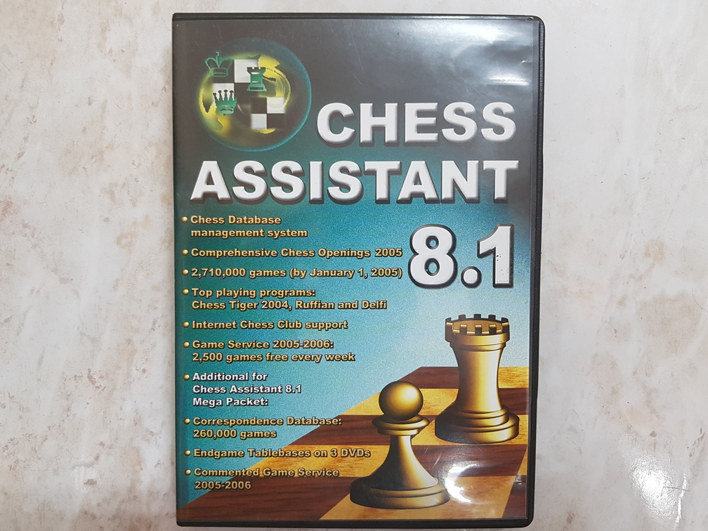Chess Assistant 8.1 Update