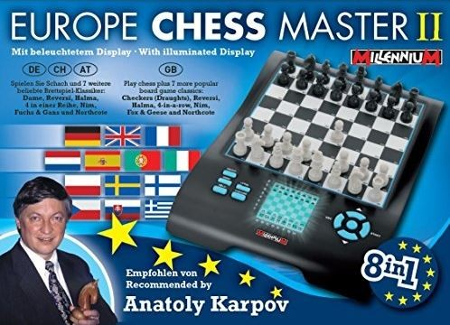 Computadora de Ajedrez Millenium Chess Europe Master II Box width=