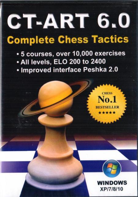 ct art 6.0 complete chess tactics