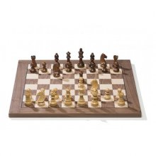 Tablero Walnut Chess Board 10842
