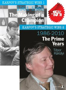 Karpov's strategic wins pack volumen 1 y 2 OFERTA