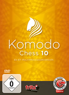 Komodo Chess 10 - 64 BIT Multiprocesador version