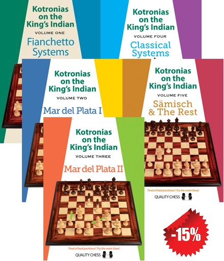 Kotronias on the King's Indian - Pack - Quality Chess