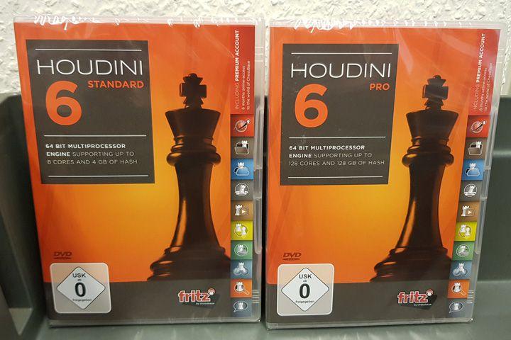 Software ajedrez Houdini 6 Standard | Inforchess