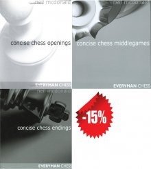 Concise chess PACK - Everyman Chess