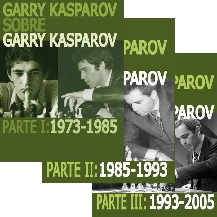 garry kasparov sobre garry kasparov PACK COMPLETO