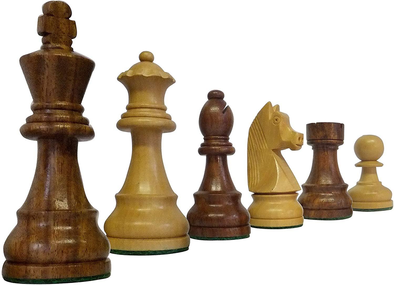 classic stauton piezas ajedrez - zoom