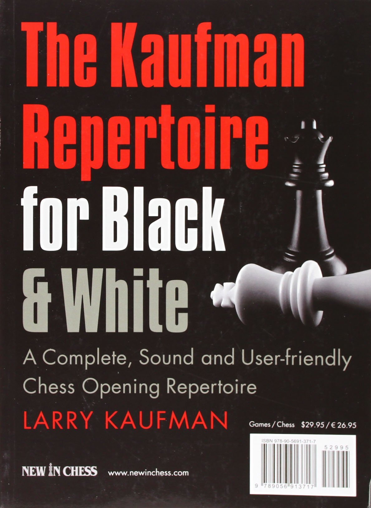 The Kaufman Repertoire for Black and White contraportada - New in chess