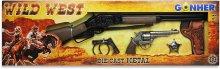 Set del Salvaje Oeste: Revolver y Rifle 8 Tiros
