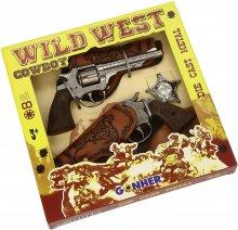 Set de Cowboy con Pistolas Dobles