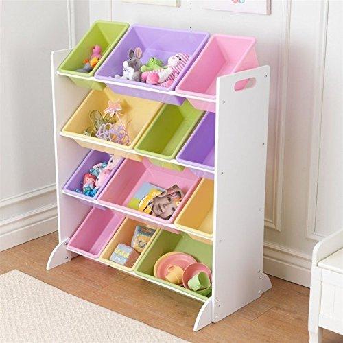 Comprar estanteria almacenaje infantil rosa