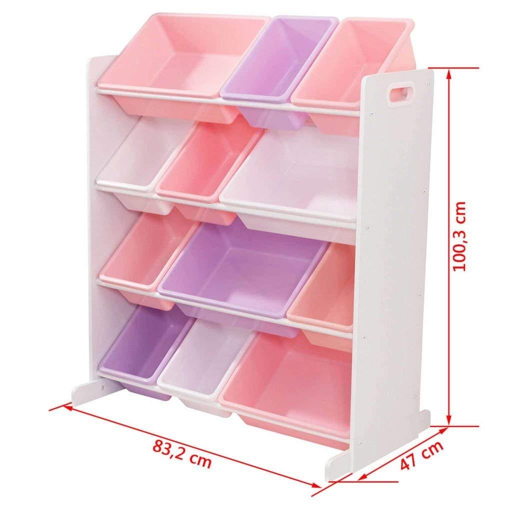Comprar estanteria almacenaje colores pastel
