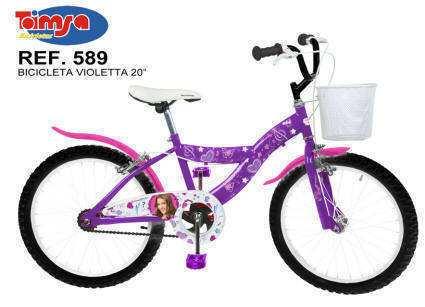 Bicicleta Violetta 20 pulgadas