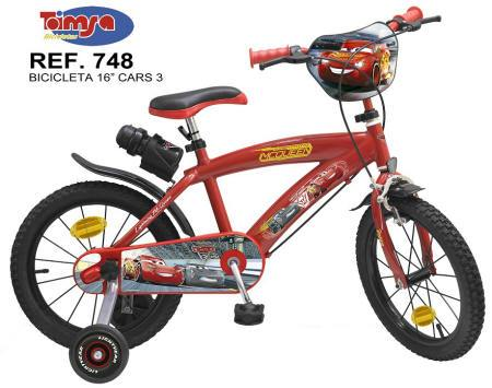 BICICLETA DISNEY CARS 3 16