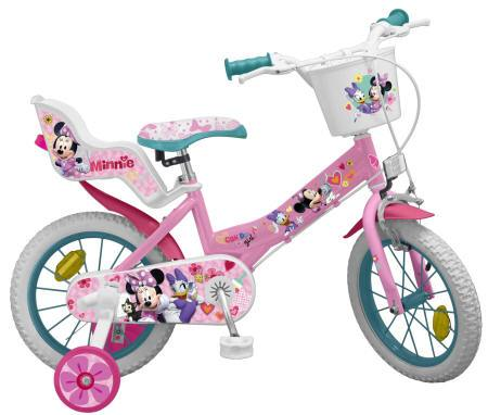 BICICLETA MINNIE CLUB HOUSE 14