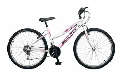 BICICLETA MTB 26 COLOR BLANCO