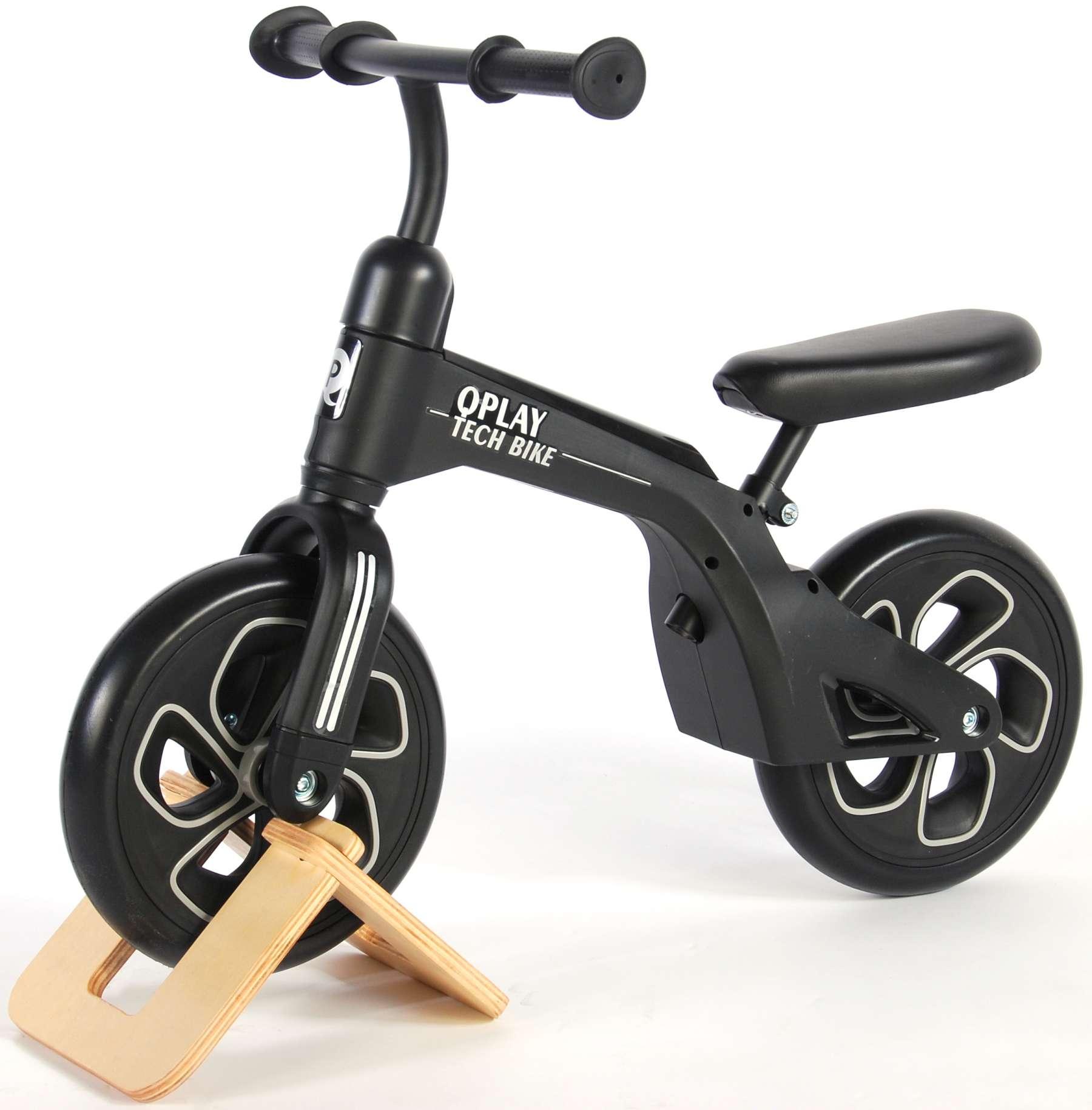 Bicicleta evolutiva QPlay Balance 10 pulgadas Roja - vista lateral izq.
