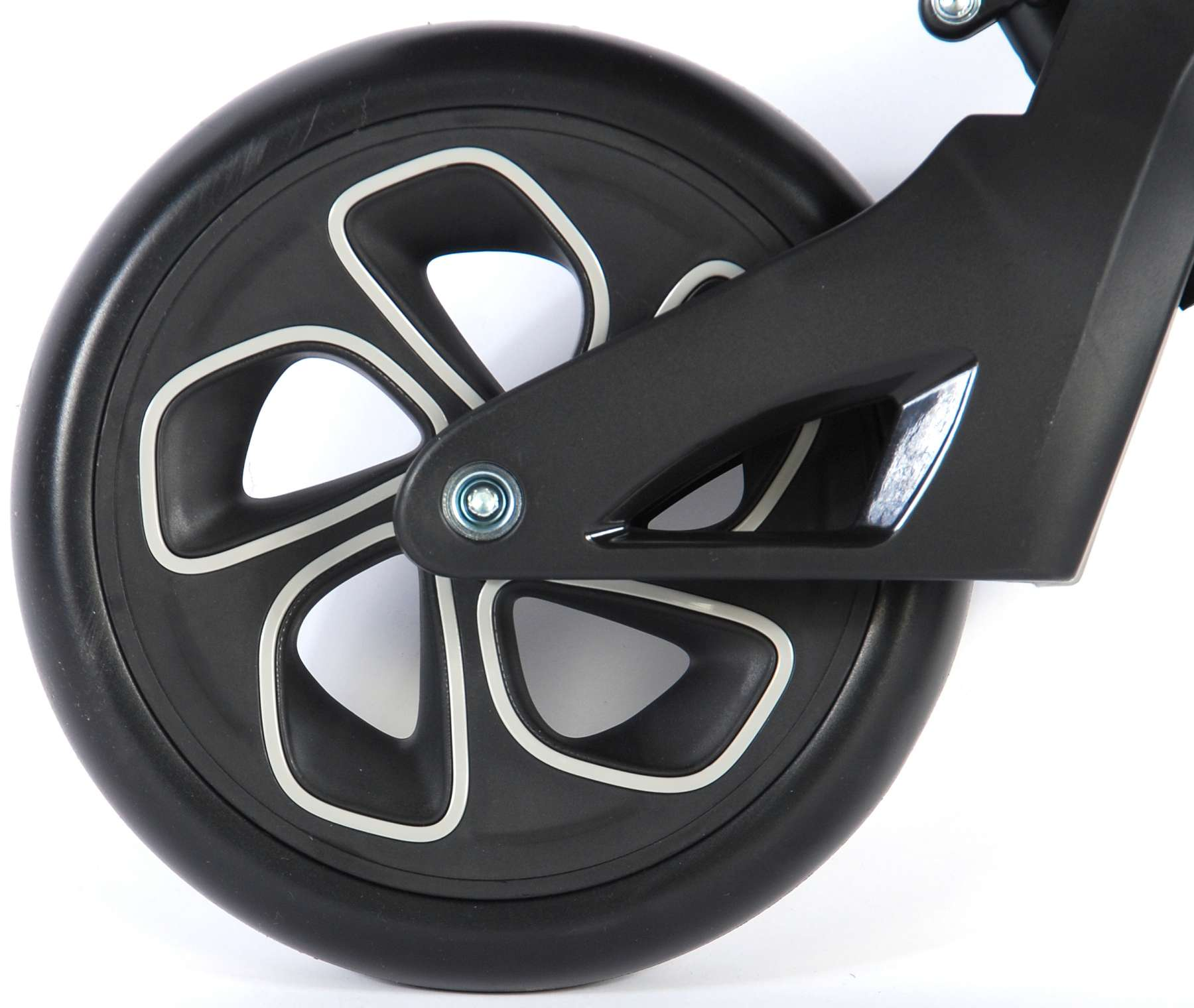 Bicicleta evolutiva QPlay Balance 10 pulgadas Roja - rueda trasera