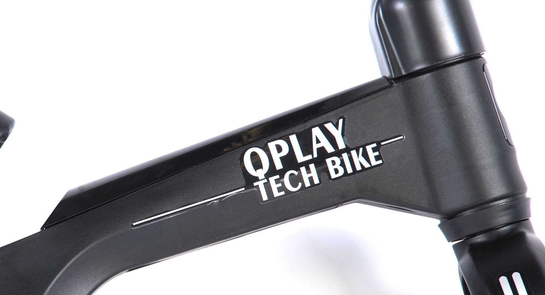 Bicicleta evolutiva QPlay Balance 10 pulgadas Roja - logo