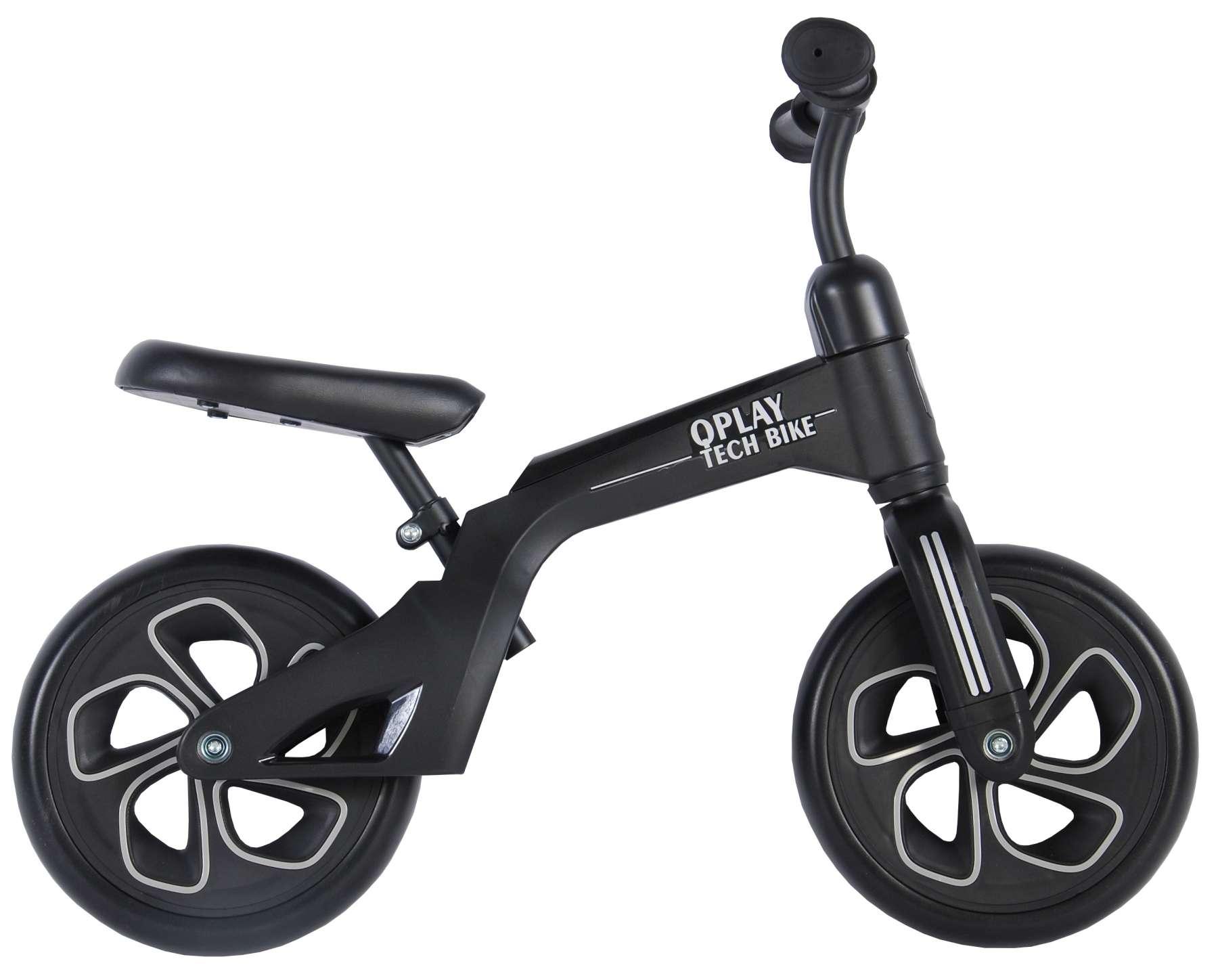 Bicicleta evolutiva QPlay Balance 10 pulgadas Negra