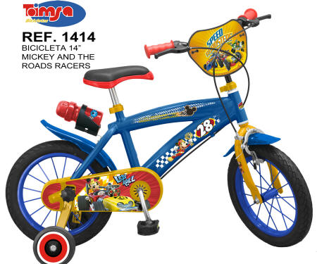 BICICLETA MICKEY AND THE ROAD RACERS LATERAL DERECHO