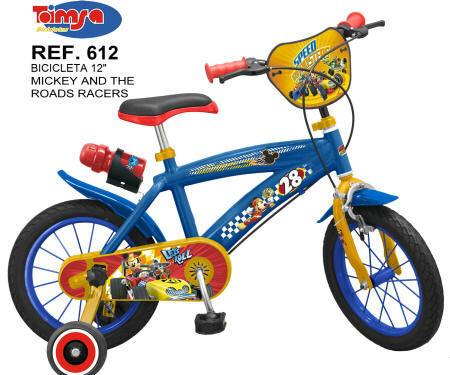 BICICLETA MICKEY MOUSE Y LOS SUPERPILOTOS 12