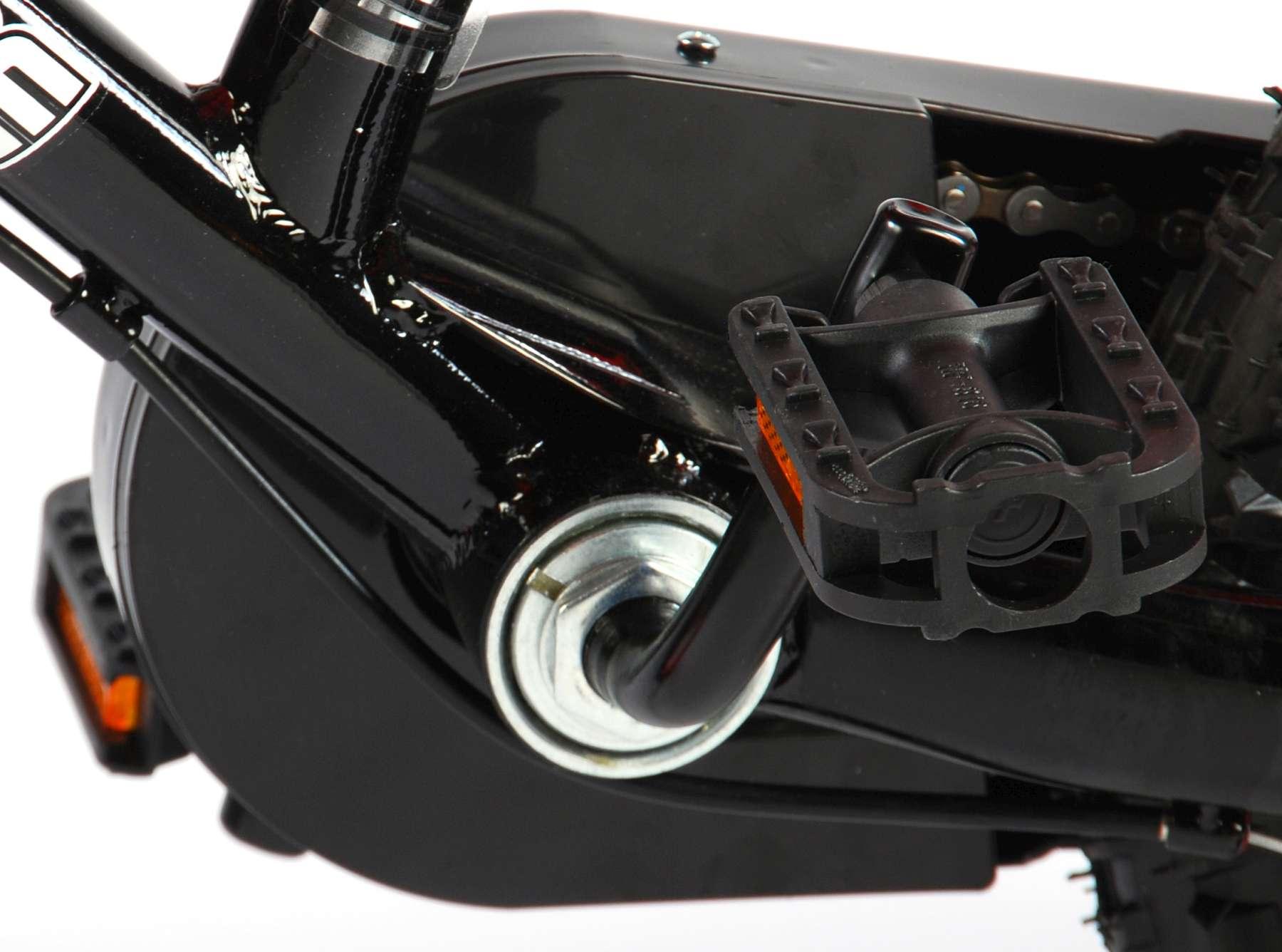 Bicicleta Motorbike de 12 pulgadas Naranja - pedales