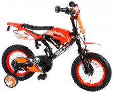 Bicicleta Motorbike de 12 pulgadas Naranja