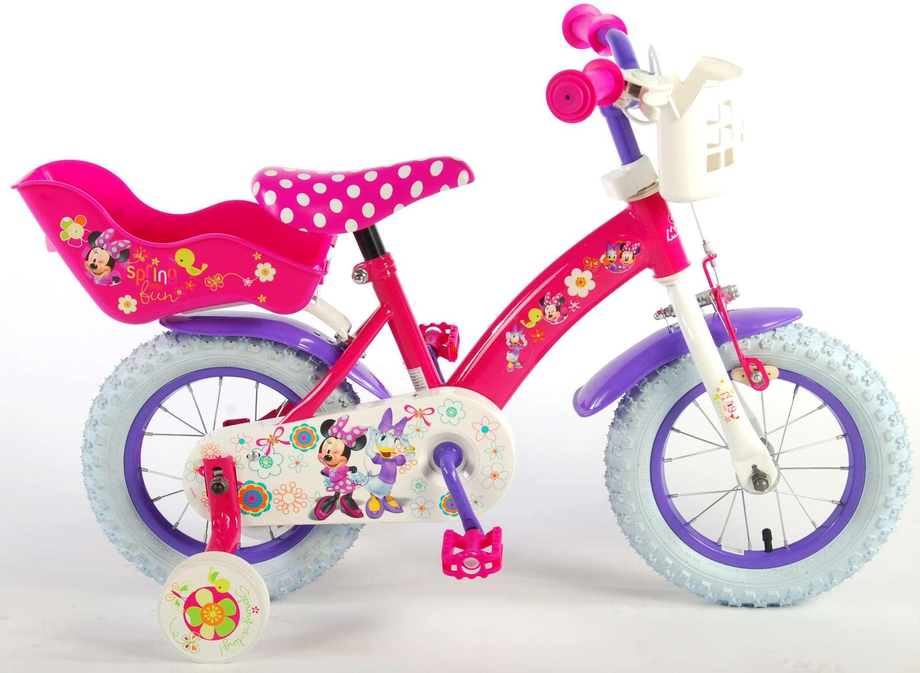 Bicicleta Minnie Bow-Tique 12 pulgadas