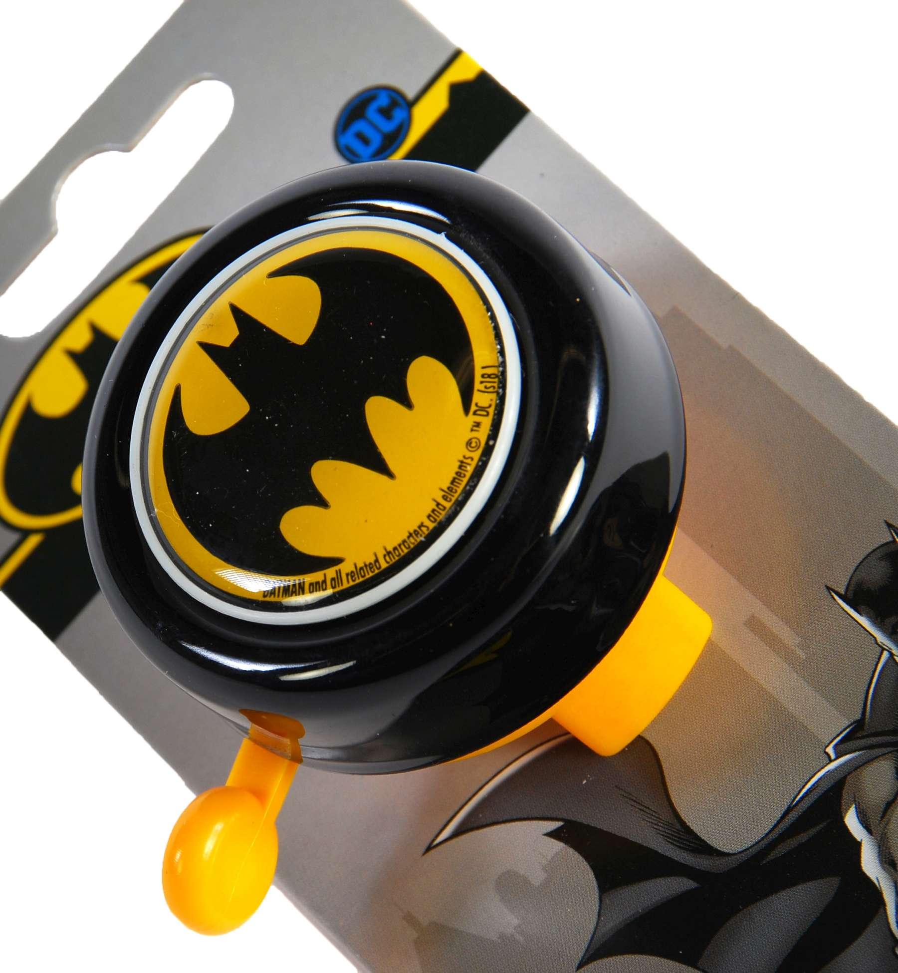 Timbre de bicicleta Batman - vista superior