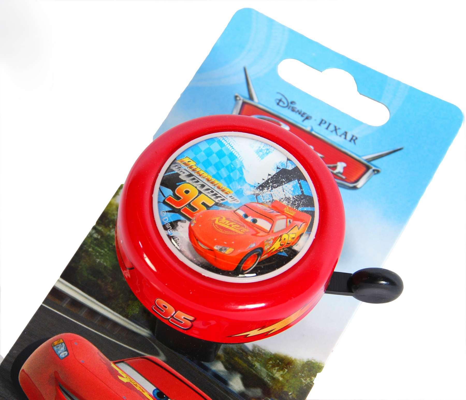 Timbre de bicicleta Disney Cars - vista superior