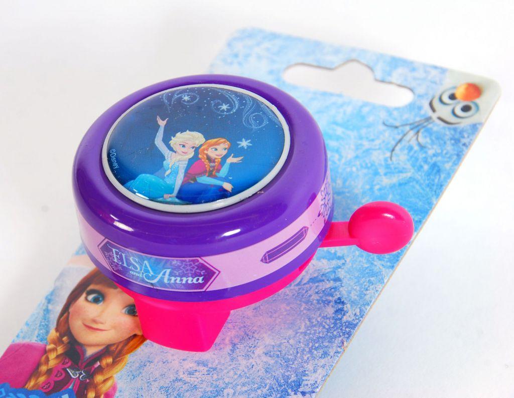 Timbre de bicicleta Disney Frozen - vista superior