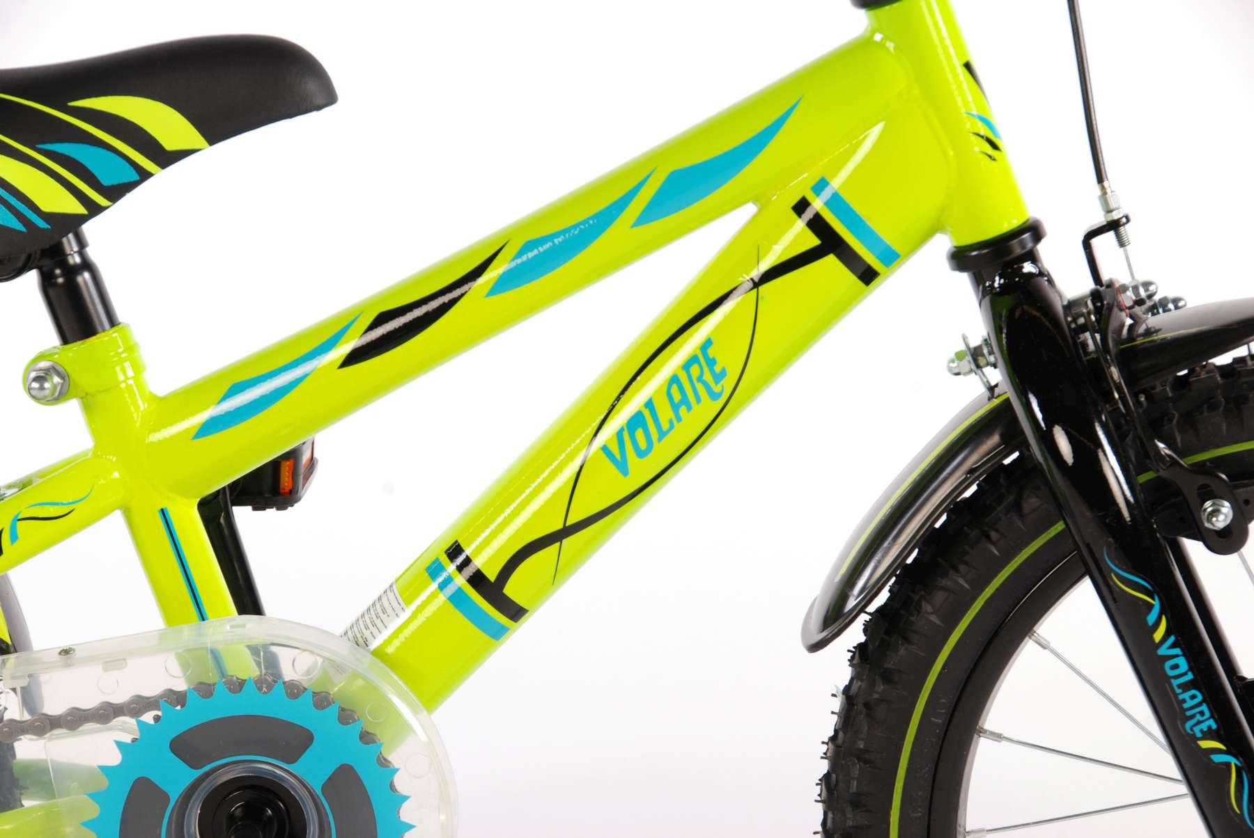 Bicicleta Volare Verde electrica 16 pulgadas